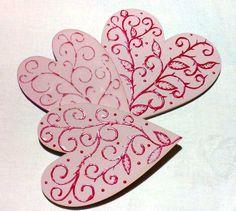 Vintage srdce - Vintage hearts
