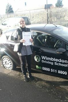 Congratulations to Vera Velinova from Streatham Common who passed her driving test at Morden Driving Test Centre on Monday 9th December.