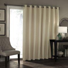 Beautiful Balcony Door Curtains