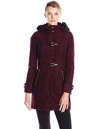Ivanka Trump Women's Wool-Blend Toggle Coat $227.50 Prime 4.8 out of 5 stars 3