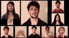 Gotye, Somebody That I Used To Know - Acapella version, Mathias Harris. Hot and beautiful singer.