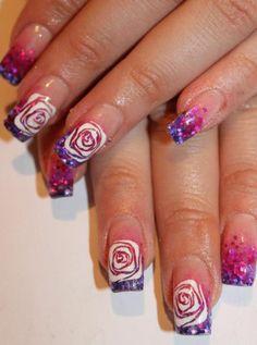 nailpolishcollage Colorful nails art   Hundreds of nails manicure ideas