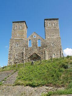 Reculver Church Kent , UK. photograph by Simon Bolton