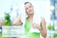 My sinuses clear at the mere mention of Eucalyptus, it's the perfect workout partner and completely at home in any gym bag!  This simple recipe can save you from some nasty bugs that lurk on equipment, in the shower and believe it or not, on the provided workout towels you pick up on your way in...bleck!  It's safe to spray on your skin, clean equipment but best of all, breathe in and revive your spirit! One very important reason that many people use Eucalyptus essential oil is that i...