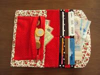 Fazendo Arte com a Clau.: Passo a passo carteira em tecido