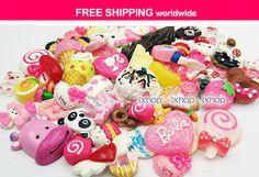 100 pcs Resin Cabochon Decoden SAMPLER Starter Grab Bag   by ixhop, $36.80
