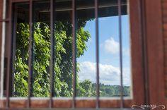 Projeto 365 Inspirações - FOTO 44  #365inspiracoes #reflexo #reflection #janela #window #ceu #sky
