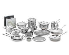 All-Clad Copper Core Ultimate 30-Piece Cookware Set | Williams-Sonoma