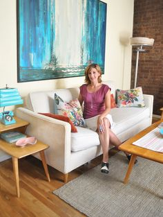Tracy's Vintage Modern in Manhattan House Tour