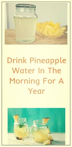 We are all well informed with the spectacular advantage of this tasty and healthy fruit. But if you've never tasted pineapple water, then this report should attract your attention.