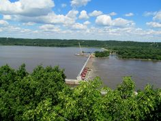 Lock & Dam #11 at Eagle Point Park,  Dubuque