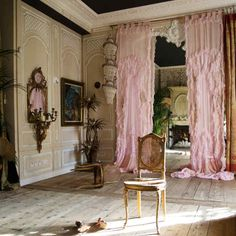 Sera of London creates opulent cushions and wall hangings from vintage velvet, silk and lace French Country Bedrooms, French Country Decorating, Vintage Interior Design, Home Interior Design, Interior Inspiration, Room Inspiration, Wood Floor Pattern, Home Fashion, New Room