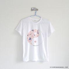 Floral Yin & Yang T-shirt $12.99 ; Peace Shirt ; Flower ; Astral  ; #Tumblr ; #Hipster Teen Fashion ; Shop More Tumblr Graphic Tee KISSMEBANGBANG.COM