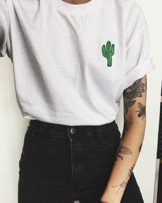 grafika fashion, style, and cactus