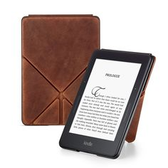 Must-Have accessories for your Kindle Voyage and All-New Kindle Limited Edition Premium Leather Origami Cover for Kindle Voyage Kindle Case, Amazon Deals, Amazon Kindle, Gifts For Friends, Good Books, Oasis, Cool Things To Buy, Origami, The Cure