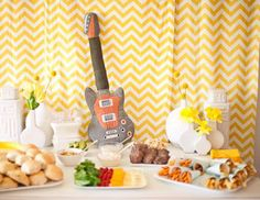 Rock and roll theme rock and roll baby shower baby shower ideas baby shower images baby shower pictures baby shower photos baby shower themes
