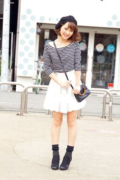 1000+ images about Spring Fashion on Pinterest | Japan street fashion Gyaru and Korean street ...