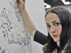 The Art of Molly Crabapple — The Art of Molly Crabapple