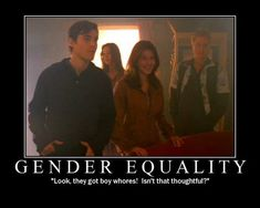 Firefly - Gender Equality This was one of my favourite lines EVER!