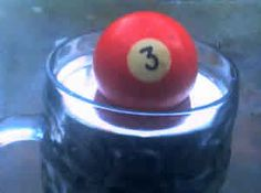 Image result for snooker ball water