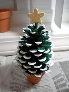 Top 40 Christmas Art And Craft Ideas For The Kids Christmas Celebrations . - Top 40 Christmas Art And Craft Ideas For The Kids Christmas Celebrations knitting - Christmas Activities, Christmas Crafts For Kids, Christmas Projects, All Things Christmas, Holiday Crafts, Holiday Decorations, Christmas Ideas, Handmade Christmas, Tree Decorations
