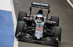 Formula 1, Test Silverstone 2016: Day 1: Fernando Alonso segna il miglior tempo