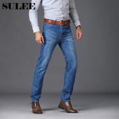 f4d858f4b SULEE Brand Men's Jeans Stretch Denim Designer Trousers Pants 34 35 36 38  40 Sizes Man
