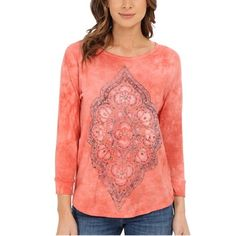 Lucky Brand peachy-pink shirt Perfect condition. Bundle and save ❤️ Lucky Brand Tops