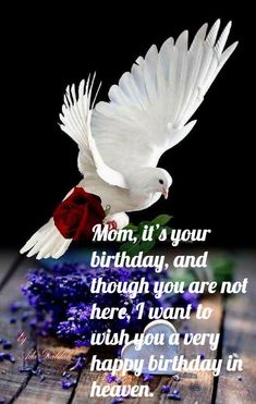 Happy birthday in heaven mom quotes poems i miss you wishes to heaven images rest in peace mom photos happy birthday mother pictures sayings. Happy Birthday Typography, Happy Birthday Quotes For Friends, Happy Birthday For Him, Mom Birthday Quotes, Happy Mother Day Quotes, Birthday Ideas, Mother Quotes, Birthday Wishes In Heaven, Mom In Heaven Quotes