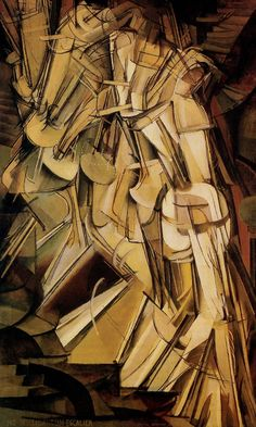 Marcel Duchamp - Nude Descending a Staircase. 1912