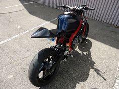 Back Side of Street Fighter Honda CBR 600 F2 1991