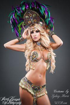 AMAZONIA Samba Costume by SydneyMariaUSA on Etsy, $2079.00