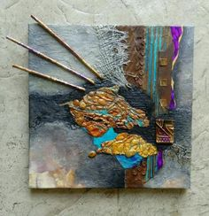 Projects From New Approaches to Mixed Media Materials | Craftsy