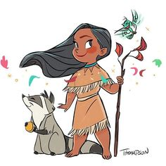 Paint with all the colors of the wind. #disney pocohontas /flit /meeko