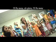 """My father passed away  to God this week and we are singing this song of joy-""""I Fly Away""""  Solutions are divine  joys on God's celestial shores.  www.magnificatmealmovement.com"""