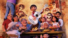 Download Page | 8K Coco 2017 Characters Animated Movie