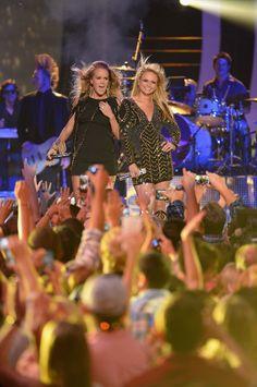 Miranda Lambert and Carrie Underwood CMT Music Awards