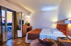 Bungalow at Sirens Village complex Heraklion, Crete, Sirens, Bungalow, Bed, Room, Furniture, Home Decor, Bedroom