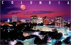 pretty skyline of Columbia, SC South Carolina Real Estate, Greenville South Carolina, Smile Face, Columbia, Breathe, Cities, Beautiful Places, Skyline, Spaces