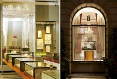 Redesign of the Mayfair store to conicide with their relaunch, that was developed further across their store portfolio. Jewellery Exhibition, Oversized Mirror, Retail, Hospitality, Furniture, Home Decor, Decoration Home, Room Decor, Home Furnishings