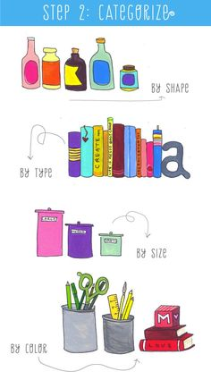 A NEAT FREAKS ILLUSTRATED GUIDE TO LESS CLUTTER