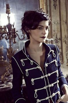 New haircut pixie curly audrey tautou 30 Ideas Short Curly Pixie, Short Curly Haircuts, Curly Hair Cuts, Short Hair Cuts, Curly Hair Styles, Short Curls, Long Curly, Audrey Tautou, Corte Y Color