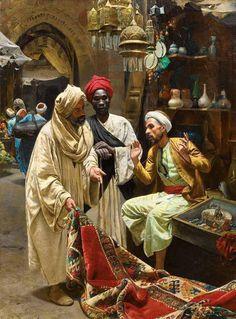 بائع السجاد .. مصر في عيون المستشرقين ..