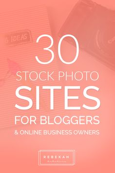 Here are 30 free stock photo websites for bloggers and online business owners! Whether you're looking for photos for your blog or social media posts, these sites can help you find the perfect photo for your content. Click through to learn more about each site!