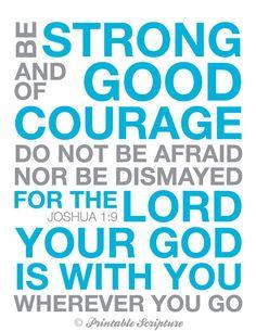 Joshua 1:9.