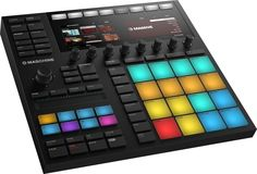 [Native Instruments - Maschine MK3] You push buttons, and it makes sound! I find it to be very handy for beatmaking and organizing my projects. I first got started with Maschine through a Maschine Mikro MK2. Definitely worth the upgrade in my opinion!