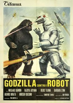 Godzilla Contro Robot - Godzilla