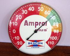 vintage Amprol Plus thermometer