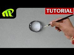 How to Draw Water Drop - 5 Simple Steps - YouTube