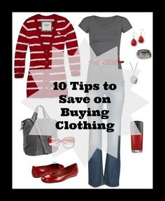 30 Day Budget Bootcamp: 10 Tips to Save on Buying Clothing        happydealhappyday.com